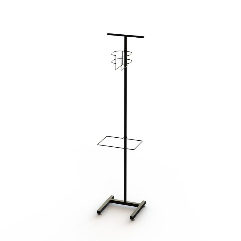 Sanitation Station Freestanding Poster Display Stand
